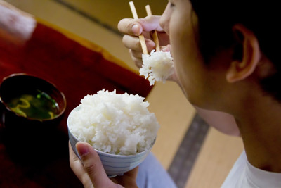 Image result for japanese eat rice